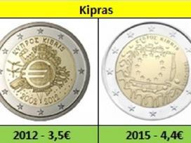Kipras 2 euro monetos Unc - nuotraukos Nr. 5