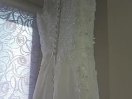Nuostabi vestuvinė suknelė - nuotraukos Nr. 4