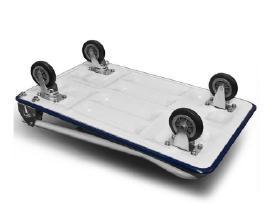 Platforminiai transportavimo vežimėliai 150-300kg - nuotraukos Nr. 3