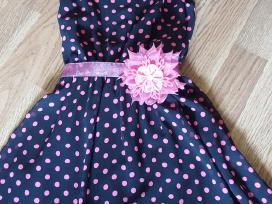 Mergaitiška proginė suknelė. Tinka išleistuvėms. - nuotraukos Nr. 2