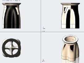 Braižymas Solidworks, autocad, ranka,3D skanavimas
