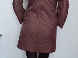 Šokoladinės spalvos paltukas - nuotraukos Nr. 2
