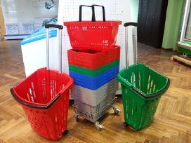 Prekybiniai krepšeliai su rankena - nuotraukos Nr. 2