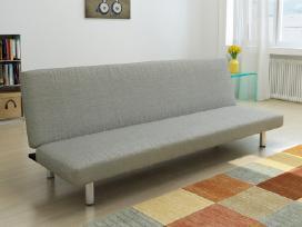 Miegamoji Sofa, Tamsiai Pilkos Spalvos, vidaxl