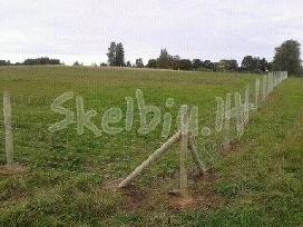 Tvora ganyklu ,sodybų tvėrimui