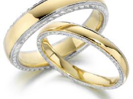 Klasikiniai vestuviniai žiedai pigiau - nuotraukos Nr. 3