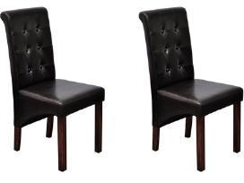 2 Antikvarinio Stiliaus Kėdžių Komplektas - vidaxl