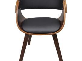 2 Medinės Valgomojo Kėdės, Rudos - vidaxl - nuotraukos Nr. 3