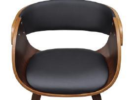 2 Medinės Valgomojo Kėdės, Rudos - vidaxl - nuotraukos Nr. 4