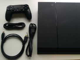 Puikios būklės Sony Ps4 500gb su 6 mėn garantija