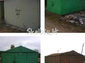 Metaliniai garažai Su Pristatymu visoje Lietuvoje