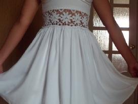 Nauja balta suknelė - nuotraukos Nr. 2