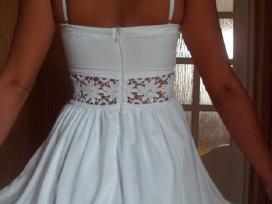 Nauja balta suknelė - nuotraukos Nr. 3