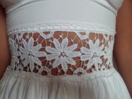 Nauja balta suknelė - nuotraukos Nr. 4