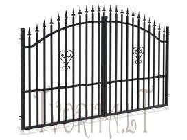 Metalinės tvoros vartai, varteliai, automatika - nuotraukos Nr. 11
