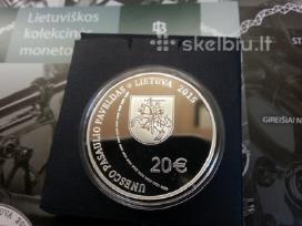 20 euru Struvės geodezinio lanko moneta