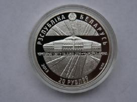 20 Rublių (Ag), Baltarusija
