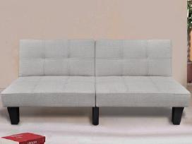 Pilka Reguliuojama Sofa-lova,240783 vidaxl - nuotraukos Nr. 2