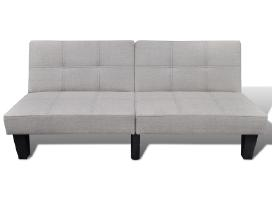 Pilka Reguliuojama Sofa-lova,240783 vidaxl - nuotraukos Nr. 3