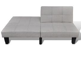 Pilka Reguliuojama Sofa-lova,240783 vidaxl - nuotraukos Nr. 4