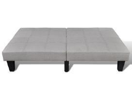 Pilka Reguliuojama Sofa-lova,240783 vidaxl - nuotraukos Nr. 5