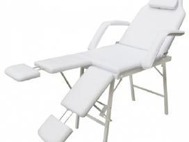 Baltas Kosmetologinis Krėslas, vidaxl