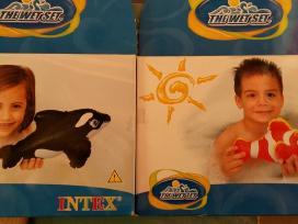 Pripučiamos priemonės, vonios žaislai, nardymui