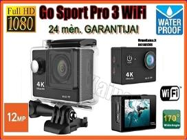 Veiksmo kamera Go Sport Pro 3 WiFi Full HD