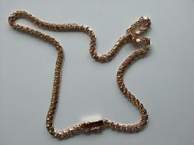 Auksine grandinele Bismark 35gr. (sveista kampu) - nuotraukos Nr. 5