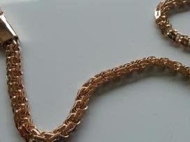 Auksine grandinele Bismark 35gr. (sveista kampu) - nuotraukos Nr. 6