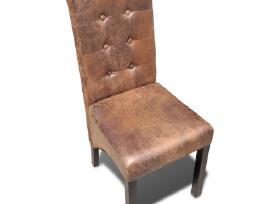 Šešių Aukštos Kokybės Valgomojo Kėdžių Komplektas