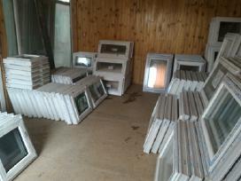 Nauji ir naudoti plastikiniai langai-durys pigiau - nuotraukos Nr. 4