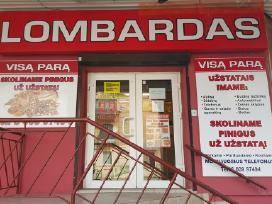 Lombardas Panevežyje ,ukmerges G 26