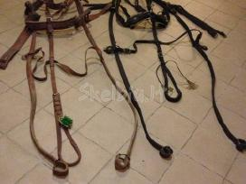 Brička bei arklini inventoriu.