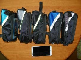 Dviratininko dviračio telefono ir daiktų dėklas