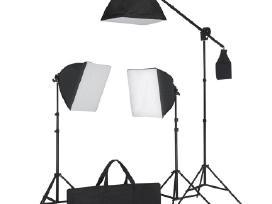 Apšvietimo Rinkinys Fotostudijai, vidaxl