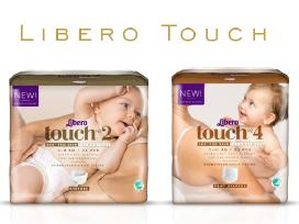 Libero Newborn, Comfort, Touch, Up&go, - atvezame