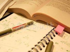 Ruošimas egzaminams, papildomas mokymas - 12 metų!