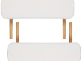 Sulankstomas Masažo Stalas, Medinis Rėmas, 3 zonų