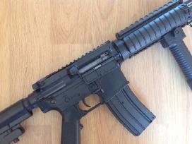 M4 vienašūvis airsoft šautuvas su metalinėm dalim - nuotraukos Nr. 2
