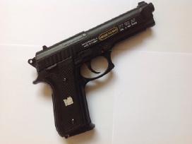Naudotas airsoft pistoletas Beretta M9 vienašūvis - nuotraukos Nr. 3