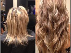 Profesionalus Plaukų Priauginimas plaukų studijoje