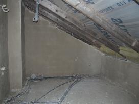 Vidaus sienų ir lubų tinkavimas - nuotraukos Nr. 5