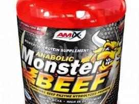 //monster Beef Protein 2.2kg 155lt + dovanos