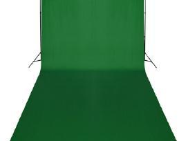Žalias Fonas 600 x 300 ir Šviestuvai, vidaxl