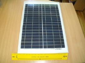 Saulės elektros baterija 20w jėgainė - elektrinė - nuotraukos Nr. 5