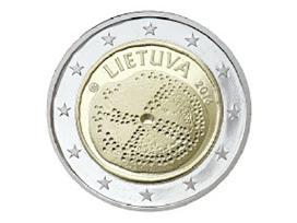 Lietuvos 2 eurų proginės monetos