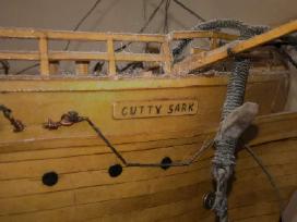 Rankų darbo burlaivis Cutty Sark