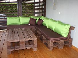 Lauko baldų čiužinukai ir pagalvės