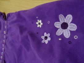 Violetinė ryški suknytė 3 Eur - nuotraukos Nr. 5
